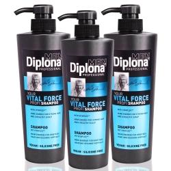 德國Diplona專業級機能活力洗髮精600ml三入