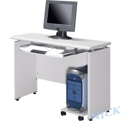 NICK-美耐板檯面灰色電腦書桌-100-45