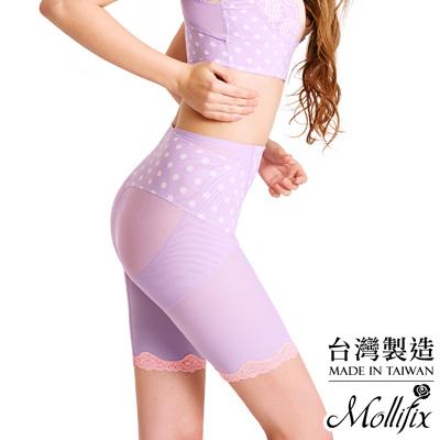 Mollifix Body偽妝術美腿升級五分褲 (香頌紫)