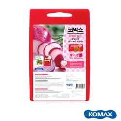 韓國Komax紅白兩用抗箘砧板L (42x28cm)