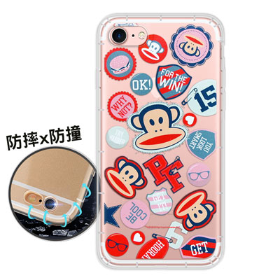 大嘴猴正版授權 iPhone 8/iPhone 7 原創風格 氣墊保護手機殼(徽...