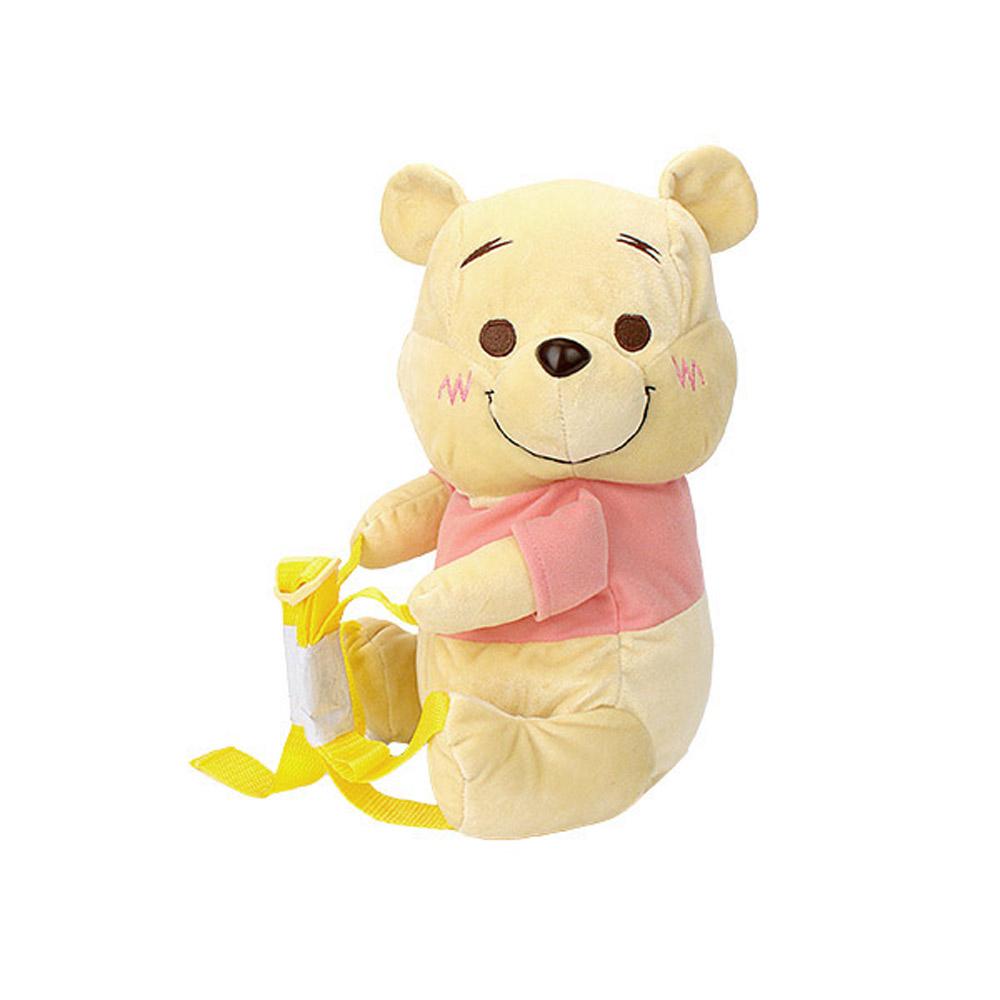 日版 Disney迪士尼 小熊維尼 絨毛娃娃 造型後背包 B款