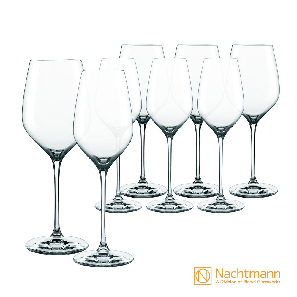 [雅虎獨家] Nachtmann SUPREME至高白酒紅酒杯8件組