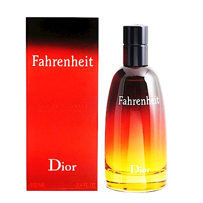 Dior 迪奧 FAHRENHEIT華氏溫度 淡香水50ml 贈原廠提袋