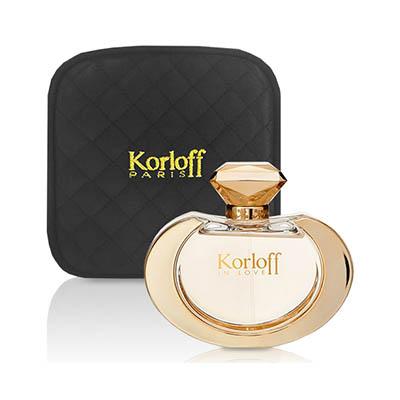 (即期品)Korloff 墮入愛河 女性 (IN LOVE) 淡香精 100ml+包包