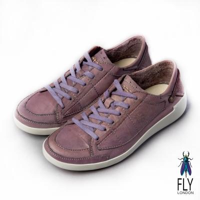 Fly London(女) 哲學之思 手染自然色系綁帶休閒鞋 - 薰紫 @ Y!購物