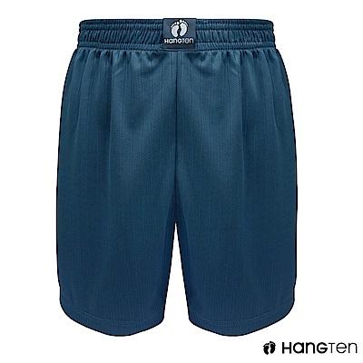 HANG TEN 極度排汗平口褲_湛藍(HT-C12004)