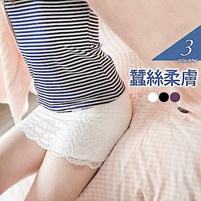 蠶絲親膚無痕安全褲/襯裙‧3色-OB嚴選