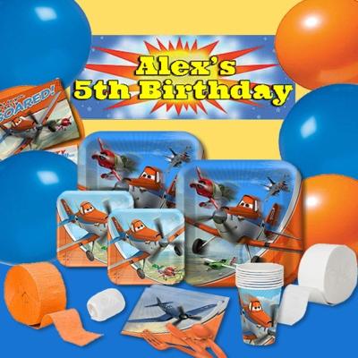 派對盒 PartyBox 生日派對懶人包 飛機總動員主題 8人豪華派對盒