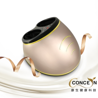 Concern 康生 6D時尚耀眼頂級氣壓式美型按摩腳機/玫瑰金 CM-716