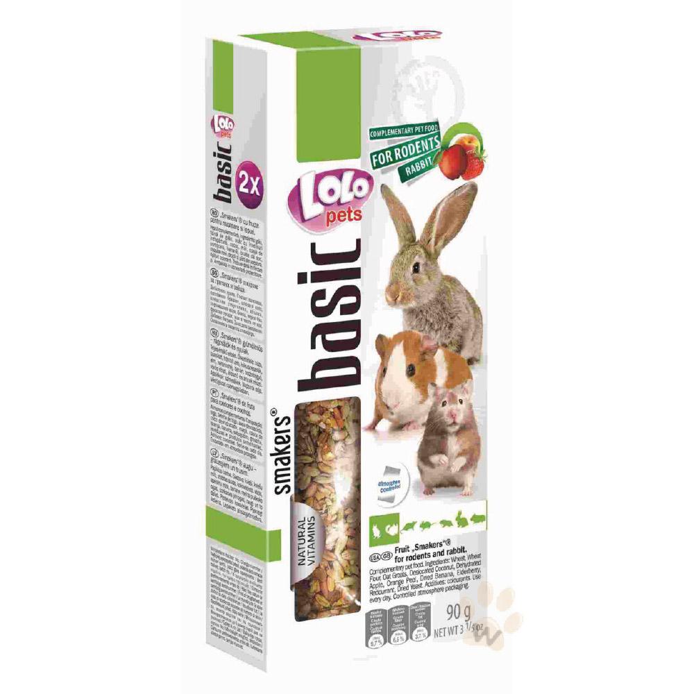 LoLo 鼠兔棒棒糖( 綜合水果)90g