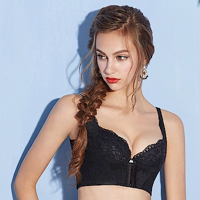曼黛瑪璉-美型顯瘦 輕機能 胸托S-XL(黑)