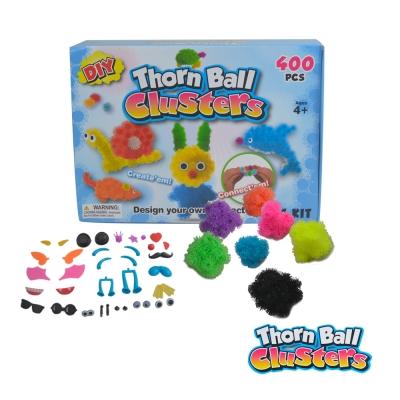 《凡太奇》創意毛毛球DIY拼裝組合玩具(4Y+)