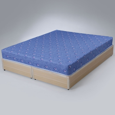 Homelike-艾莎印花彈簧床墊-雙人5尺