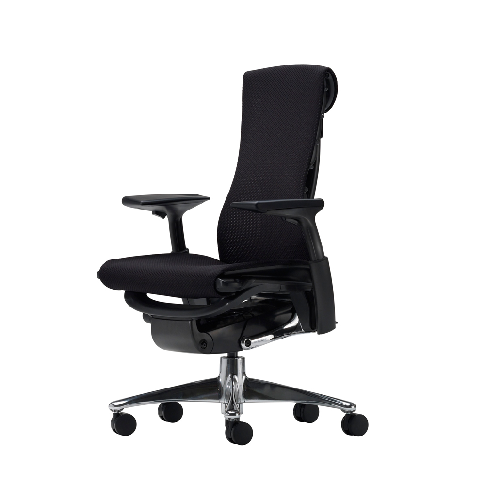 Herman Miller 人體工學椅-Embody Chair-黑框時尚旗艦款