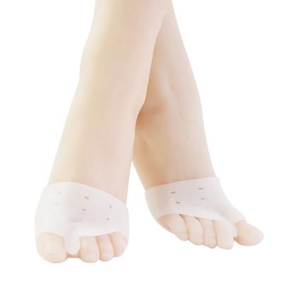 任選-足的美形  矽膠套趾透氣前掌墊(1雙)
