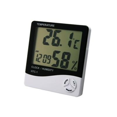 便利社 溫濕度計 時間 溫度 濕度 鬧鐘四合一