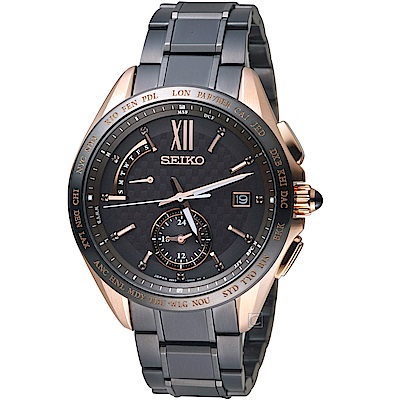 SEIKO精工BRIGHTZ鈦金屬限量電波腕錶(8B63-0AJ0K)-45mm