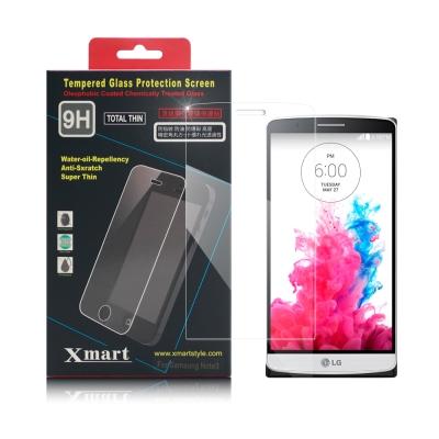 X mart  LG G3 D855 強化0.26mm耐磨防指紋玻璃保護貼