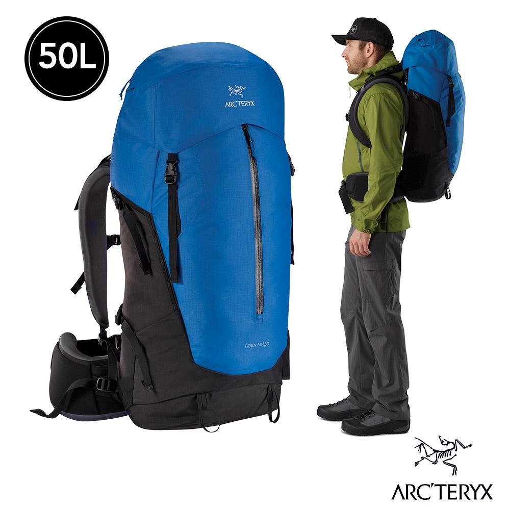 Arcteryx 始祖鳥 男 Bora AR 50 登山背包 藍
