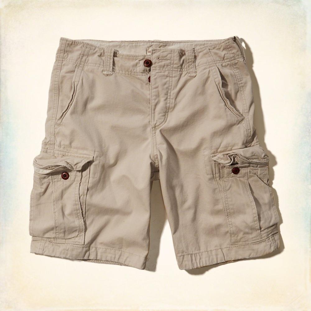 Hollister HCO 素色 短褲 卡其 206