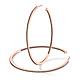 GIUMKA 925純銀耳環C字雙邊鑲鑽時尚大圈圈5.5CM-共4色