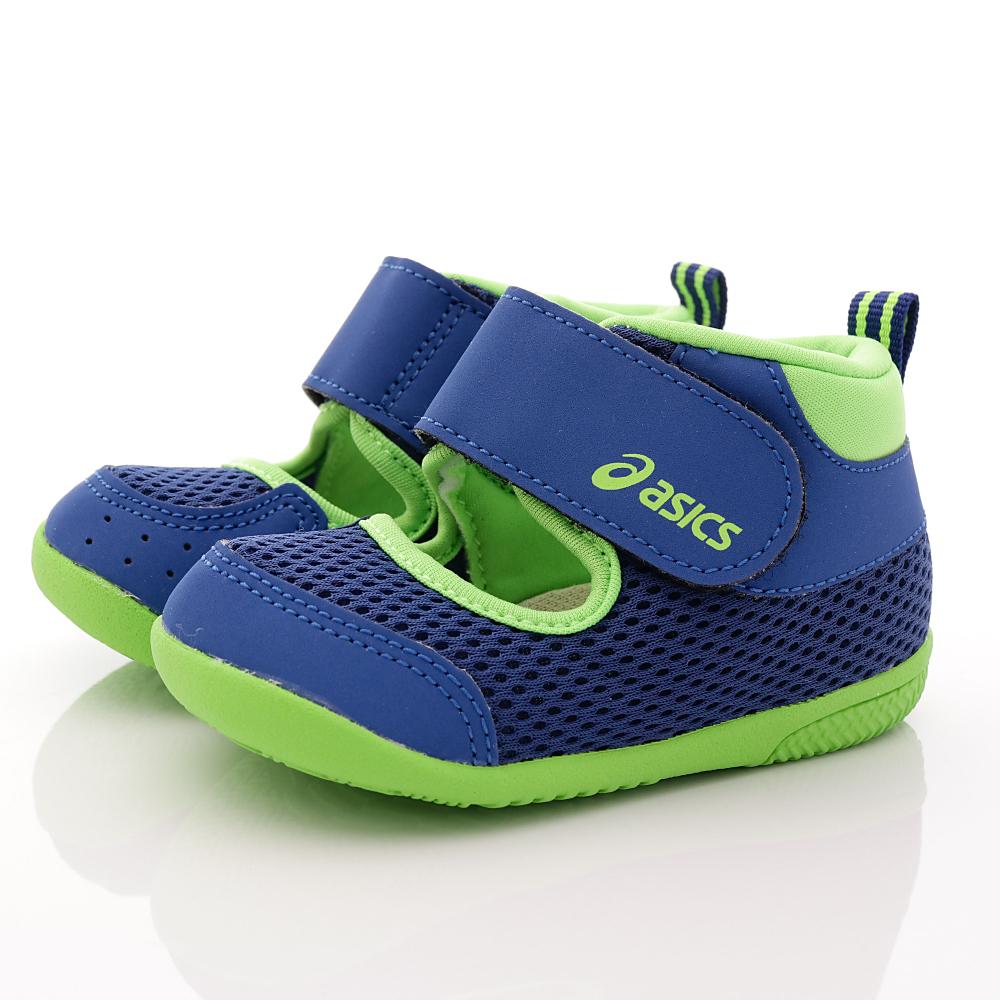 亞瑟士SUKU2機能鞋-速乾護踝款-ON17-49藍(寶寶段)HN