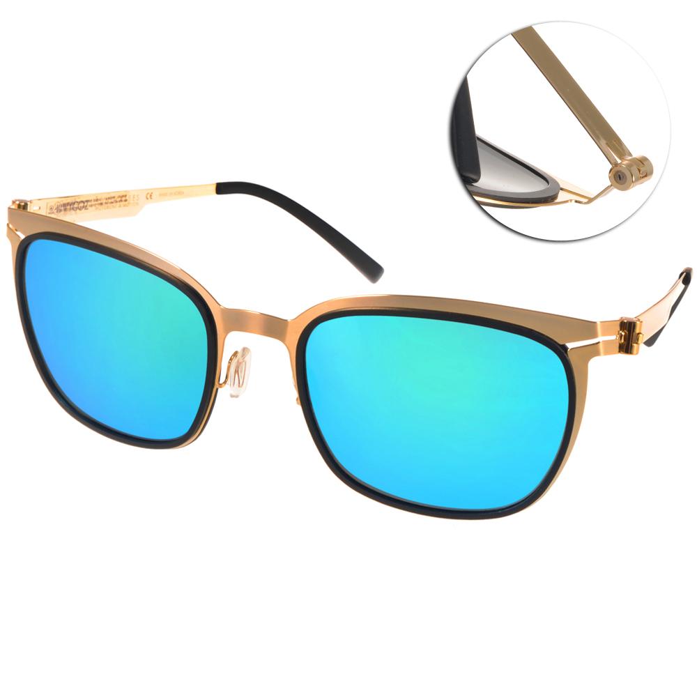 VYCOZ偏光太陽眼鏡 完美創新/金-藍水銀#BUNKER GOLBGD
