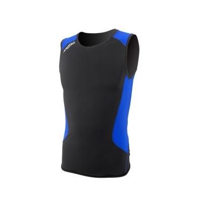 AROPEC Compression II 男款運動機能壓力衣 背心 黑/藍