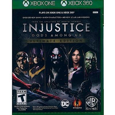 超級英雄:武力對決 終極版 INJUSTICE - XBOX ONE 英文美版