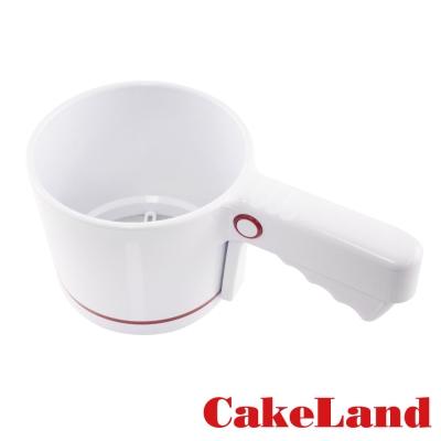 日本CAKELAND手壓式麵粉篩
