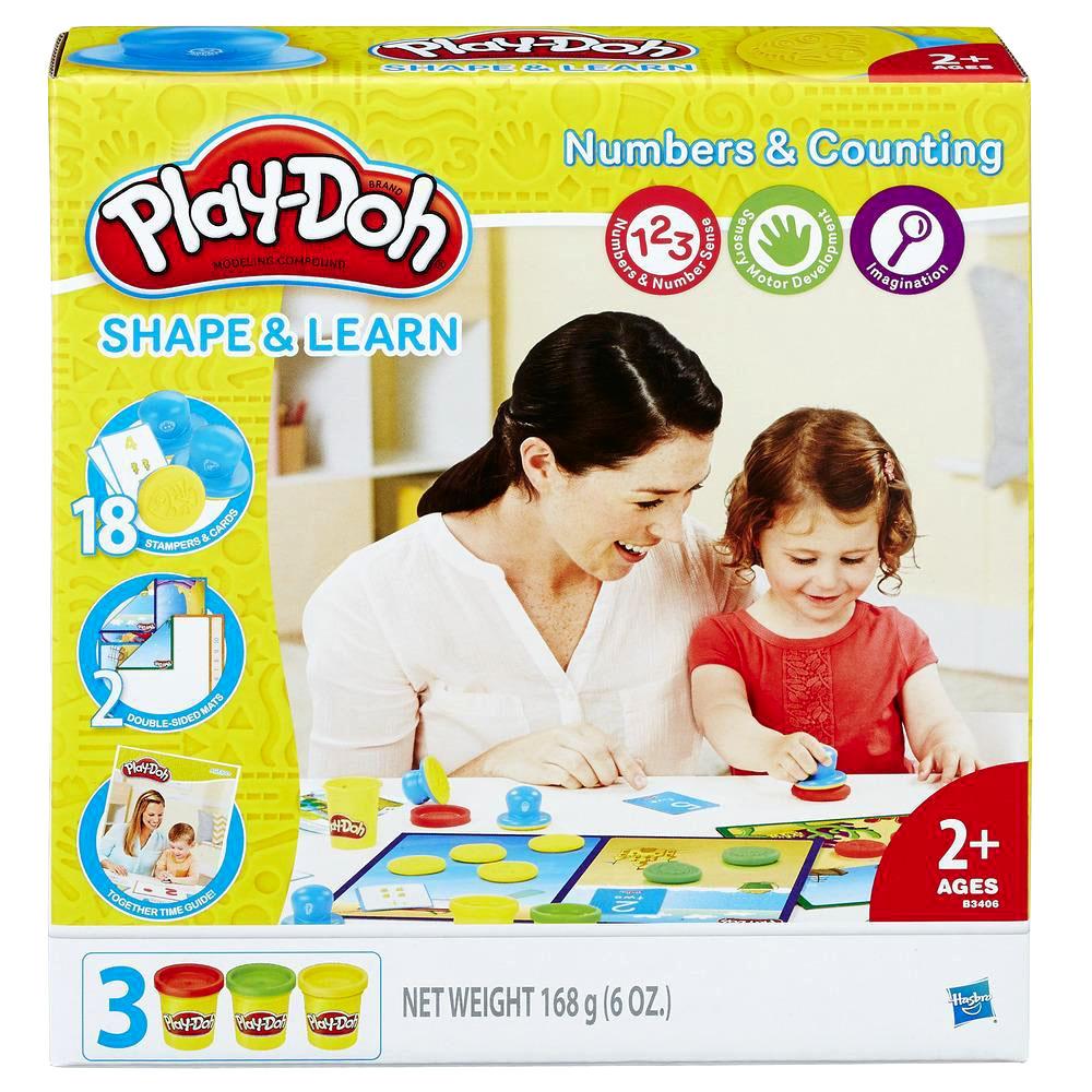 培樂多Play-Doh 創意DIY黏土 數字學習遊戲組 B3406
