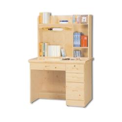 AS-寇蒂斯3.2尺松木書桌