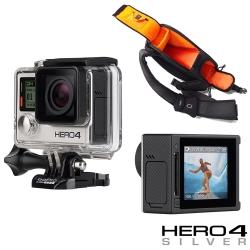 GoPro HERO 4 專業觸控螢幕銀色