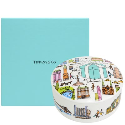 TIFFANY&Co. 限量版圓形收藏罐