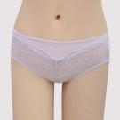 瑪登瑪朵 S-Select  中腰寬邊三角萊克內褲(淡灰紫)