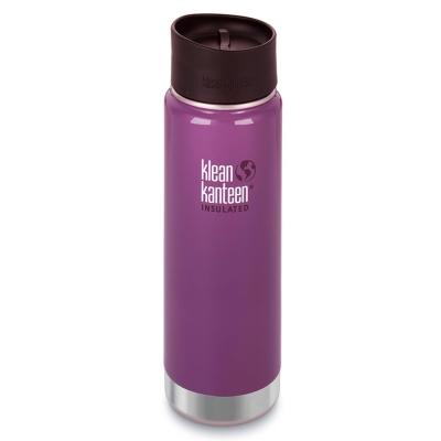 美國Klean Kanteen寬口保溫鋼瓶591ml-紫葡萄
