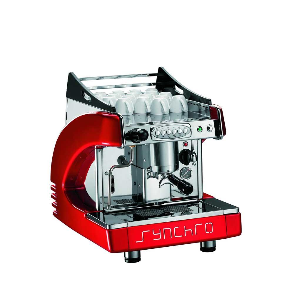 BFC synchro 星球單孔 110V 營業級咖啡機-紅色款(HG0993)