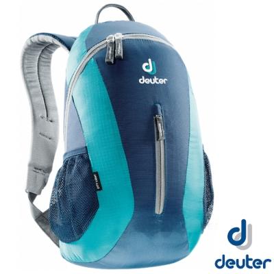 【德國 Deuter】City Light 16L 輕量級拔熱透氣休閒背包_深藍/藍