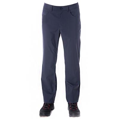 【hilltop山頂鳥】男款WS抗風保暖超撥水長褲H31MJ3藍