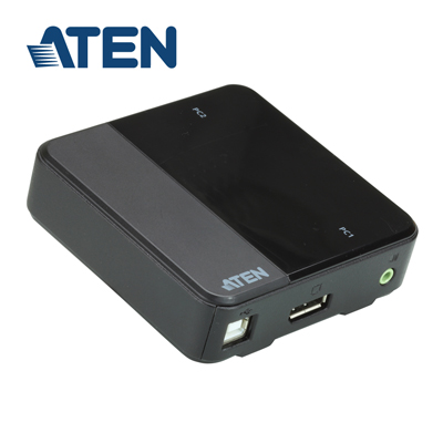 ATEN 2 埠 USB DisplayPort KVM 多電腦切換器 (CS782DP)