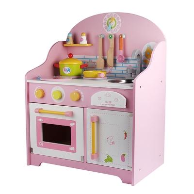 Amuzinc酷比樂 木頭玩具 木質家家酒 粉紅日式廚房 17061