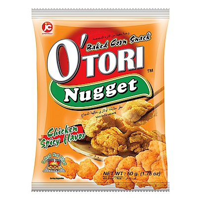 Otori歐特粒 辣雞味玉米餅(50g)