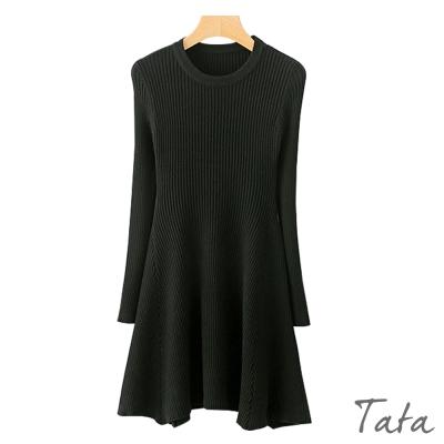 修身針織洋裝 共二色 TATA