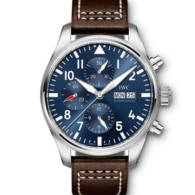 (現金分期24期) IWC 萬國 小王子 IW377714 複雜自動機械錶-夜藍/43mm