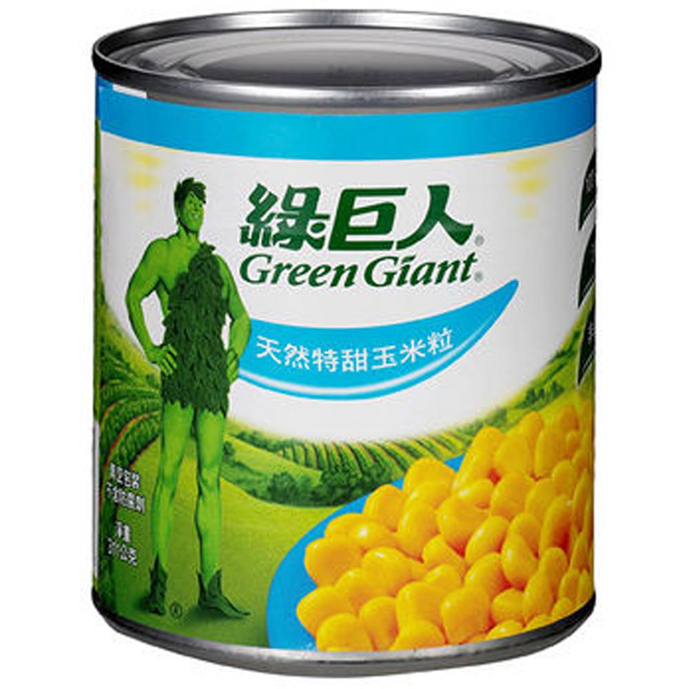 綠巨人 天然特甜玉米粒(198gx3罐)