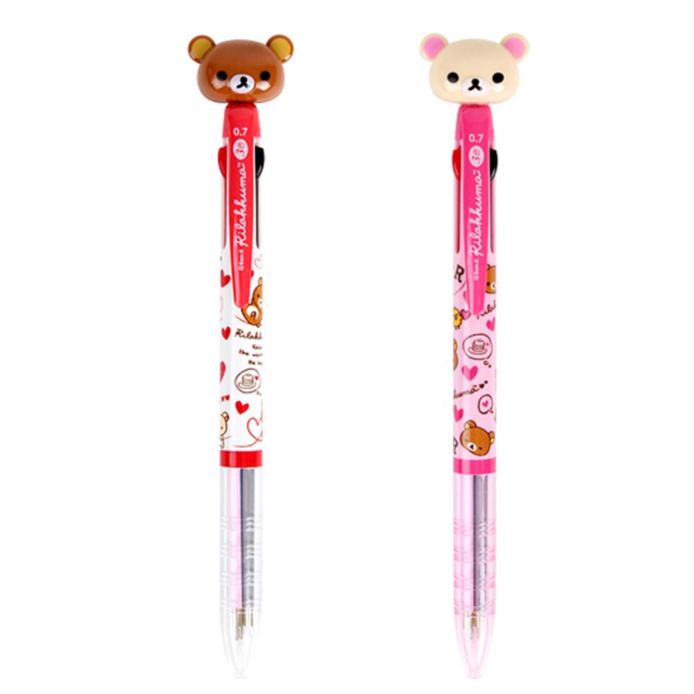 SAN-X拉拉熊0.7mm三色原子筆