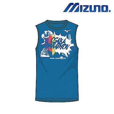 MIZUNO OSAKA 大阪馬紀念 慢跑男T-Shirt J2MA7Y5924