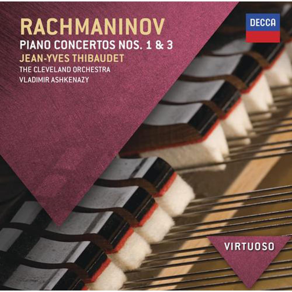拉赫曼尼諾夫:第一、三號鋼琴協奏曲
