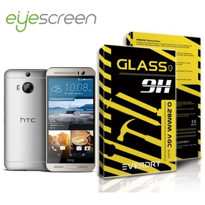 EyeScreen HTC One M9 Plus Everdry AGC 玻璃...